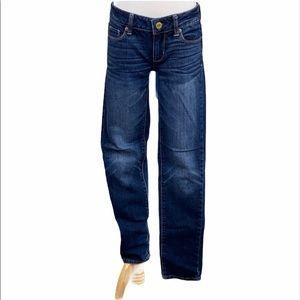 American Eagle Stretch Dark Wash Skinny Jeans